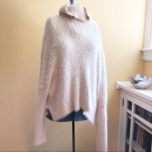 Free People soft blush sweater